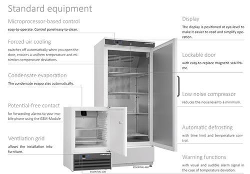Standard equipment 1