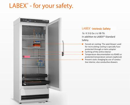 KIRSCH Laboratory Freezers LABEX-Intrinsic Safe