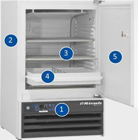 Pharmaceutical Freezer MED-100